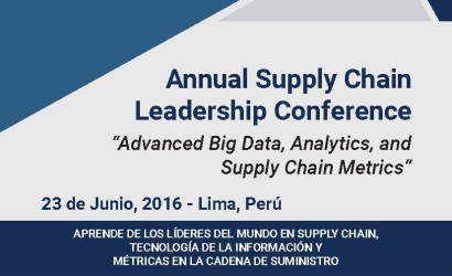 """Annual Supply Chain Leadership Conference """"Advanced Big Data, Analytics, and Supply Chain Metrics"""""""