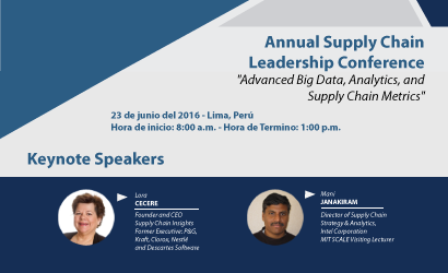 "Annual Supply Chain Leadership Conference ""Advanced Big Data, Analytics, and Supply Chain Metrics"""